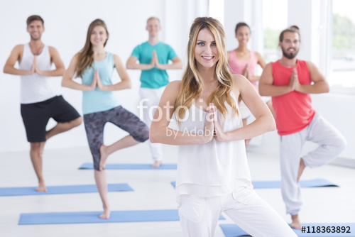 Initiere in yoga